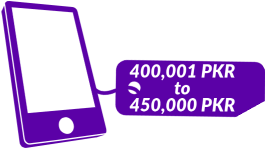 400001 PKR - 450000 PKR Mobile Phones in Pakistan