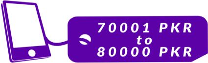 70001 PKR - 80000 PKR Mobile Phones in Pakistan