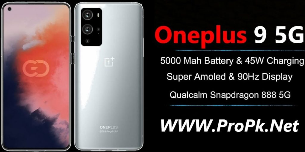 OnePlus 9E Specification