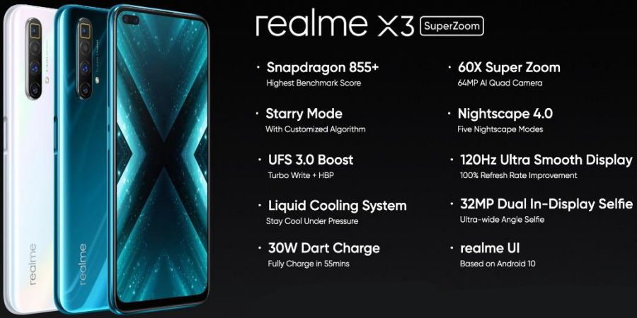 Realme X3 Super Zoom Specifications