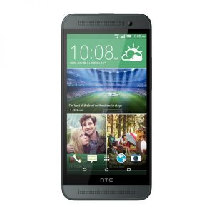 HTC One E8 front back