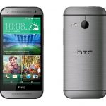 HTC One front back